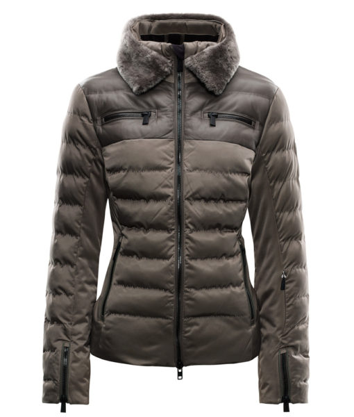 toni sailer rhea womens ski jacket brown