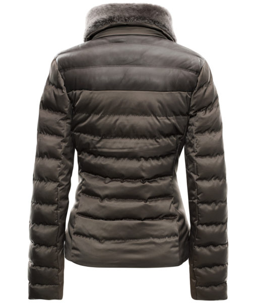 Rhea Ski Jacket Brown