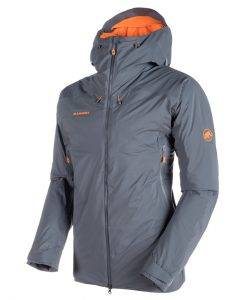 mammut ski jacket nordwand gray
