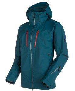mammut ski jacket stoney blue