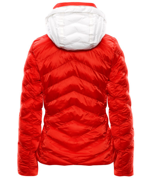 Iris Ski Jacket Fire Orange