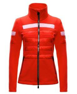 toni sailer fleece romee red