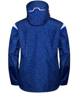 Harper Print Mens Blue Square