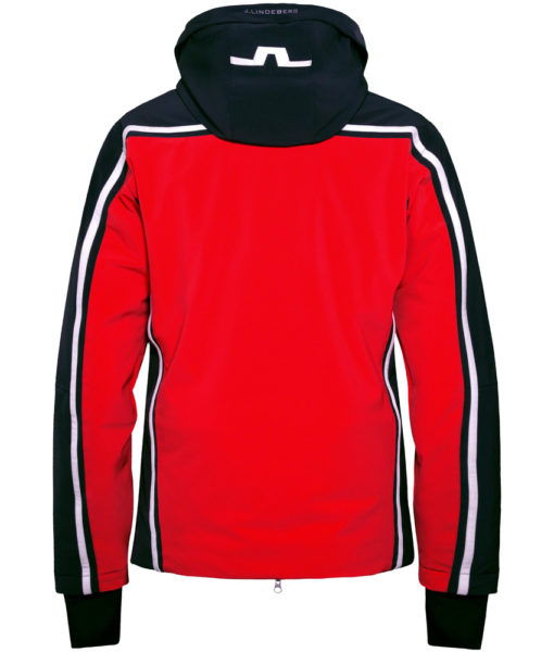 Moffit Jacket Racing Red Rear