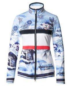 Sportalm Lattea ski sweater blue