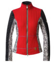 Sportalm Madrisa ski midlayer red