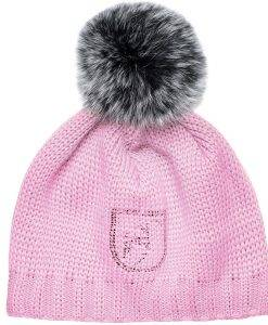 Beanie Fur Rose Blush