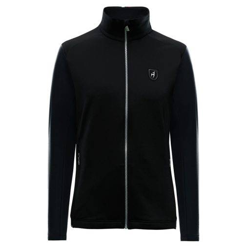 malcollm toni sailer ski fleece black