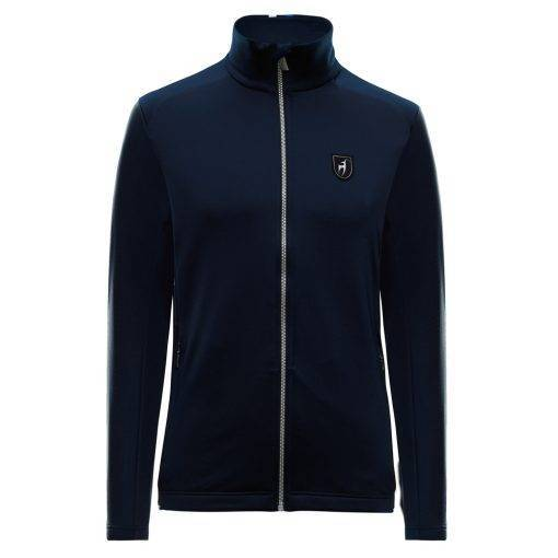 malcolm Fleece toni sailer ski sweater blue