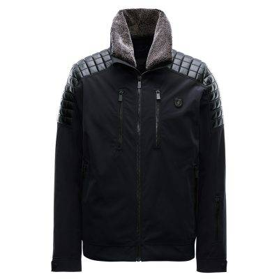 toni sailer bradley fur mens ski jacket black