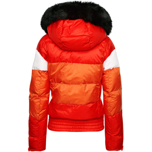 Fire Orange Ski Jacket