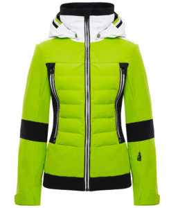 Manou Ski jacket Lime