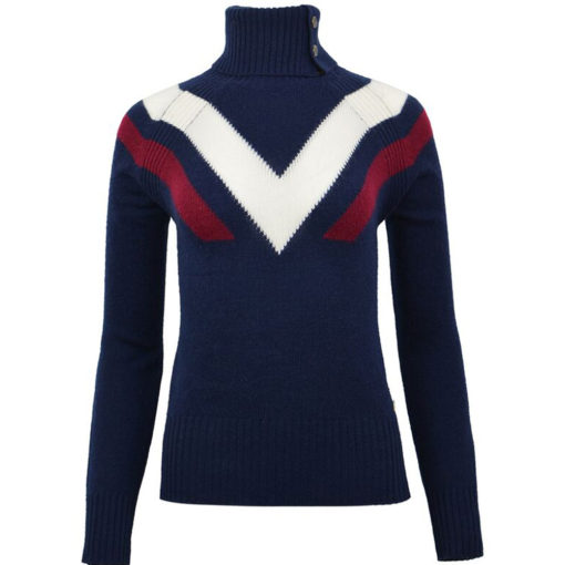 Ski Race Knit Sweater