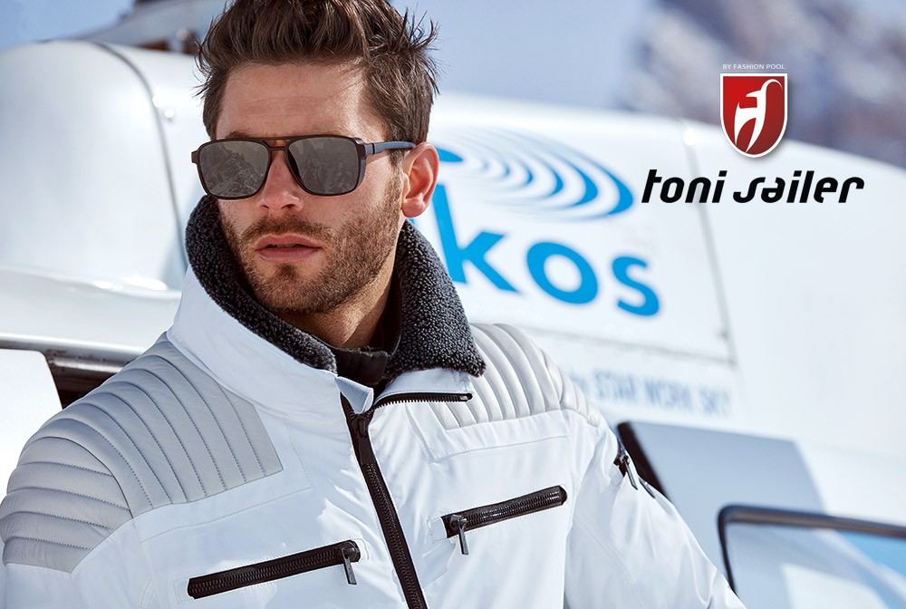 Toni Sailer Men Bogart Fur ski jacket