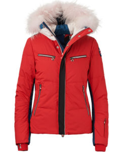 Jet Set Liv Mix Fur Ski Jacket