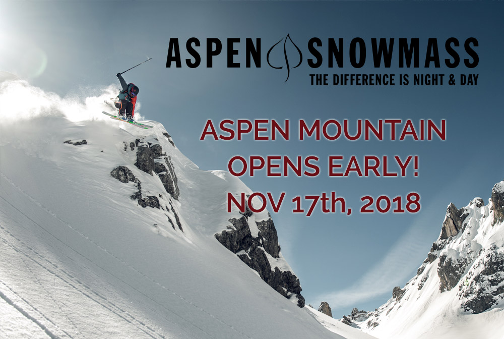 aspen mountain opens early