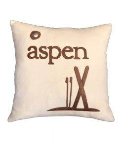 Aspen Pillow White