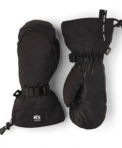 Leather Hestra Mittens